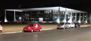 Iluminação do Palácio do Planalto