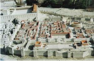 Reconstituição da antiga Jerusalém