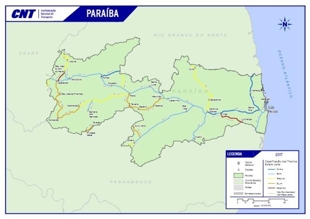 Rodovias federais Paraíba