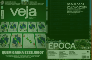 Capas de Veja e Época de 13.04.2018